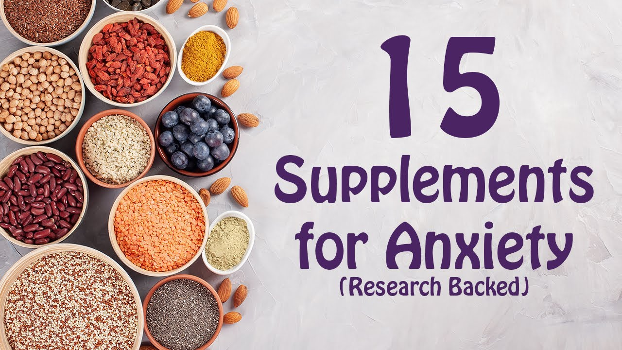 natural supplements for anxiety therapy in a nutshell