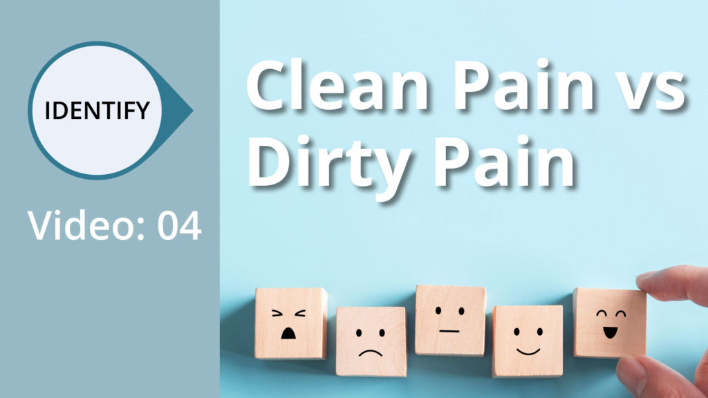 Clean pain vs. dirty Pain therapy in a nutshell